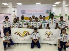 """جمعية الكشافة العربية السعودية تمنح """"14"""" جوالاً من جوالة جامعة الأمير سطام شارة هواة اللاسلكي"""