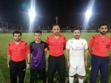 إدارة الأعمال بالحوطة تتأهل لدور الأربعة من بطولة كأس معالي مدير الجامعة