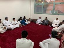  نادي نزاهة التابع لعمادة شؤون الطلاب بالجامعة يعقد اجتماعا دوريا لأعضاءه