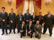 سفير خادم الحرمين الشريفين في إيطاليا يستقبل وفد جامعة الأمير سطام المشارك في ملتقى الشباب وصناعة المستقبل