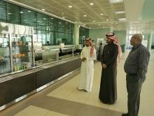 د. عبدالله الشتيلي يقف على جاهزية مراكز الخدمات الطلابية للفصل الدراسي الثاني