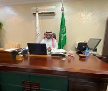 عميد كلية المجتمع بالخرج يلتقي بأعضاء الهيئة التعليمية