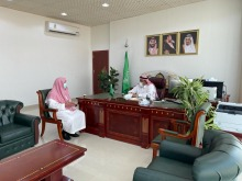 عميد كلية السليل بزيارة لرئيس بلدية محافظة السليل