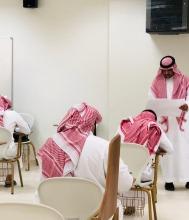 عميد كلية الآداب والعلوم بوادي الدواسر يتفقد سير الاختبارات