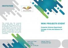 قسم علوم الحاسب في كلية الآداب والعلوم بوادي الدواسر (طالبات ) ينظم معرض للمشاريع البرمجية
