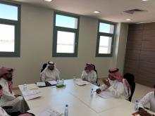 معالي مدير جامعة الأمير سطام بن عبدالعزيز يجتمع بعمداء كليات وكالة الفروع