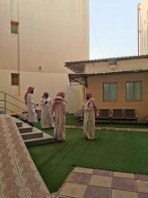 عمادة شؤون الطلاب تتفقد مراكز الخدمات الطلابية بكليات حوطة بني تميم