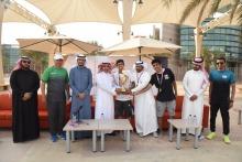 المجتمع بالخرج تحقق لقب بطولة الجامعة الثانية لكرة الطائرة الشاطئية