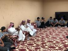 الدكتور خالد العاصم يزور المعسكر الإعدادي للجوالة المشاركين في الحج لهذا العام