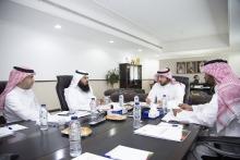 مجلس عمادة خدمة المجتمع والتعليم المستمر يعقد جلسته الأولى للعام الجديد