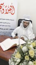 عميد كلية المجتمع في لقاء مفتوح مع الطالبات المستجدات في كلية المجتمع بالخرج