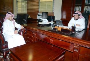 صحيفة الجامعة الإلكترونية تجري لقائها الأول مع أ.د عبدالعزيز بن عبدالله الحامد